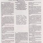 Auszüge aus den Rundbriefen 90 bis 93